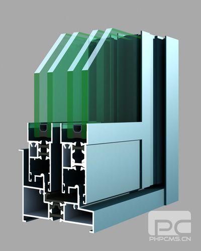 80系列隔热节能铝合金推拉窗(穿条)